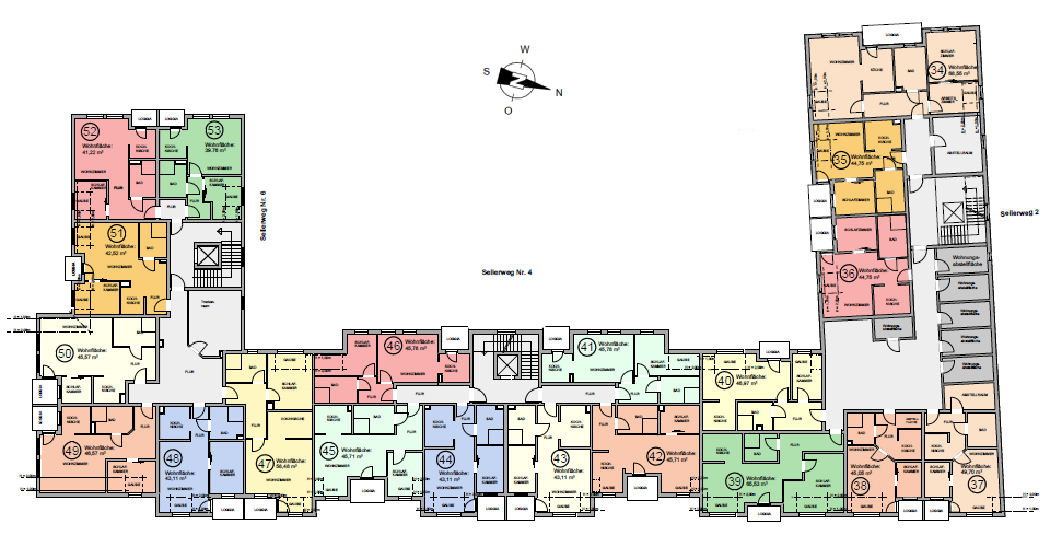 Seniorenwohnanlage Oschersleben - Wohnungen im Dachgeschoss